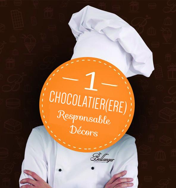Chocolaterie Bellanger - BLOG - La Chocolaterie recherche un(e) Chocolatier(ère) Responsable Décor en CDI