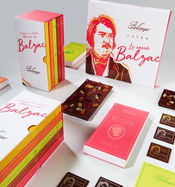 Chocolaterie Bellanger - BLOG - Lancement de la Collection Balzac, au service de la Fondation du Patrimoine