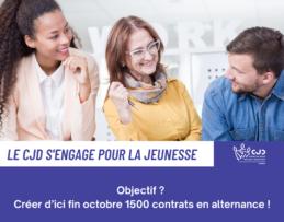 Le CJD : un objectif, 1500 contrats en alternance pour octobre 2020 !