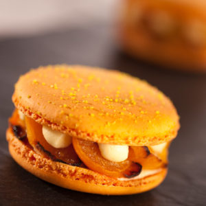 dessert-macron-abricot